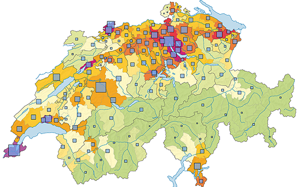Interactive Statistical Atlas Of Switzerland