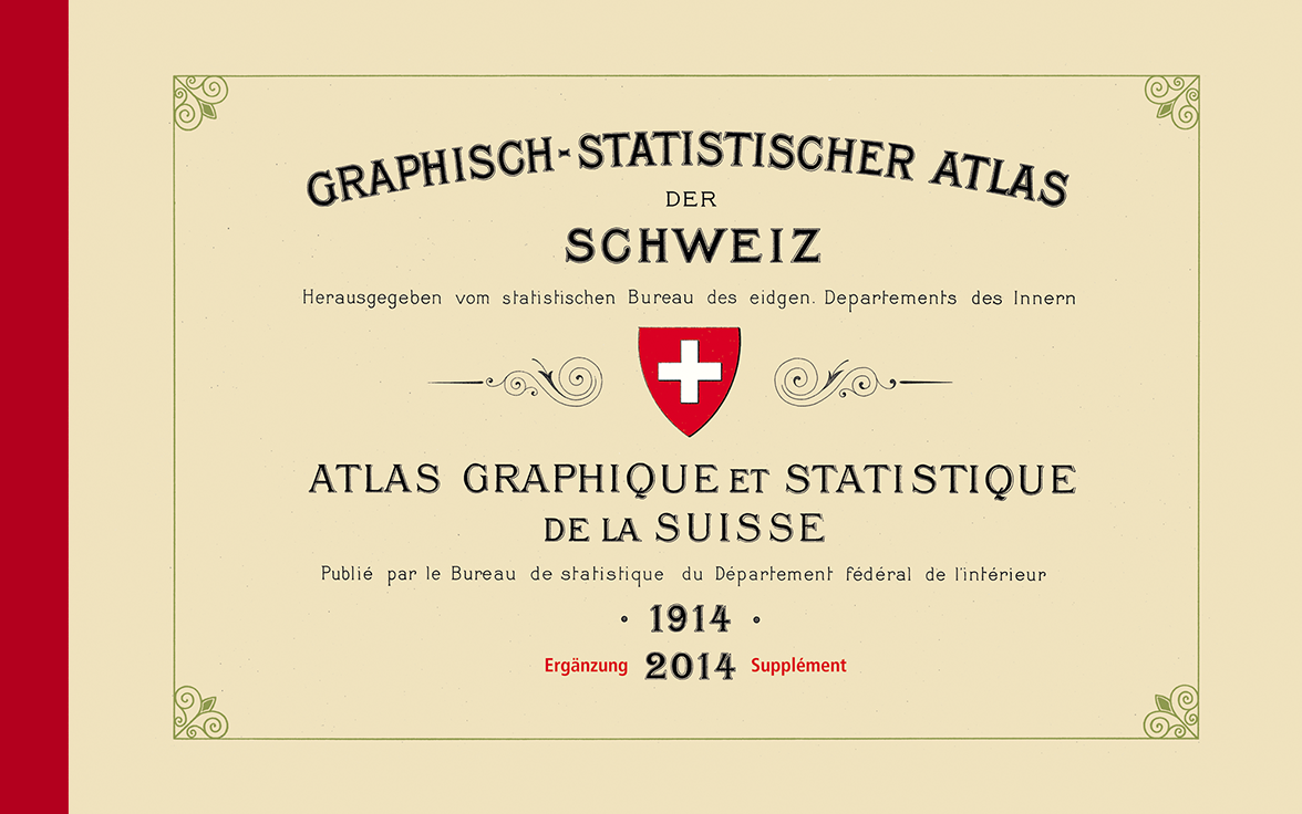 Graphical Statistical Atlas of Switzerland 1914–2014