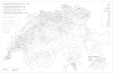 General map of institutional divisions of Switzerland, last update: 1.1.2020