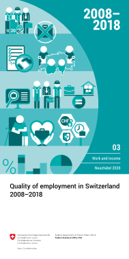 Quality of employment in Switzerland 2008-2018