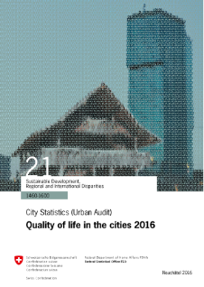 Quality of Life in the Cities 2016