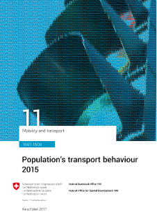 Population's transport behaviour 2015