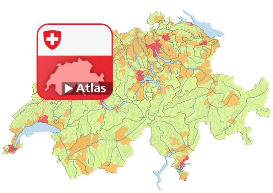 Degré d'urbanisation 2011 (DEGURBA - Eurostat) (Communes)   Map on