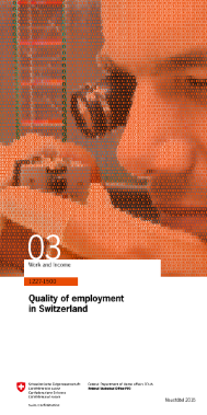 Quality of employment in Switzerland