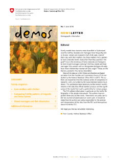 Demos. Family, migration