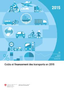 Coûts et financement des transports en 2015