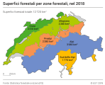 Superfici forestali per zone forestali